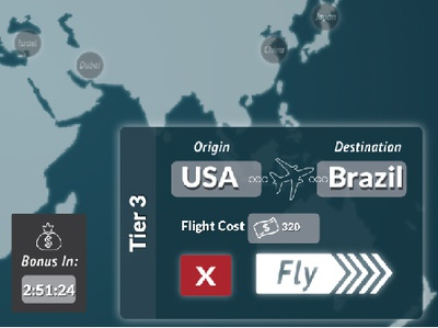 Transporter Flight Simulator