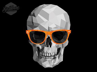 SixthBase: Funky Skull sixthbasestore sixthbase skull hexagon product glares shades