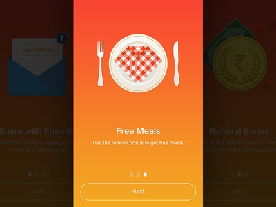 Walkthrough food currency mail coupon invite meals walkthrough