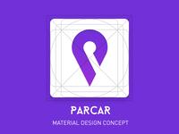 Parcar app icon concept