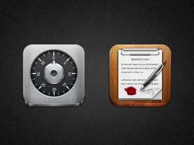 Dezinr Locker Notepad locker notepad pen paper steel wood