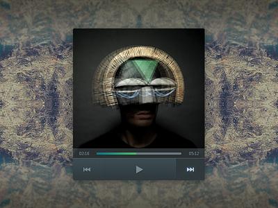 Music Player UI ndc2014 music player ui design gradient widget