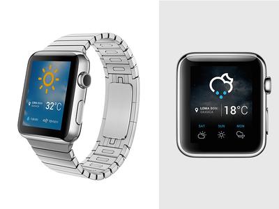 Weather app |  WATCH