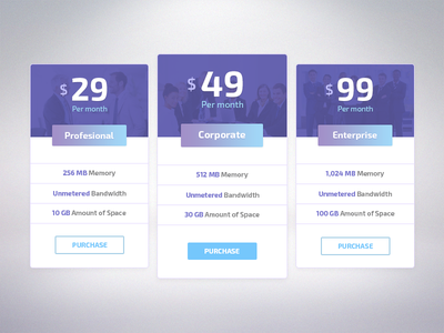 Pricing Table pricing table price ui ux web ndc2014 design
