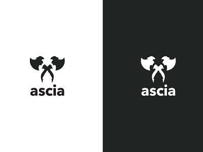 #1 - ascia logo a day logo designer logo maker modern logotype logo design axe logo vector