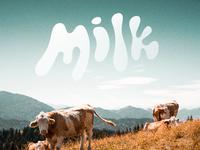 Milk Shake Logo