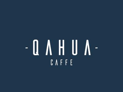 Qahua Logo modern logo coffeelogo coffee wordmark logo logos logo design logotype brand identity brand design