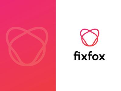 fixfox logo fox logo logosketch illustration logomaker logo design logotype branding concept branding and identity brand design