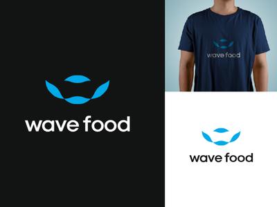 wave food logo a day food wave logo logo design designer creativity logodesign logotype logos branding and identity branding concept brand design