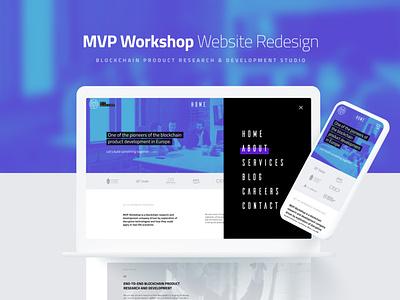 MVP Workshop - Website redesign agency redesign responsive design development product studio blockchain web  design