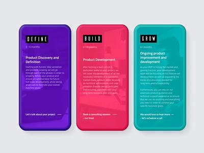 MVP Workshop - Website redesign popup design graphic design web design blockchain agency mobile design