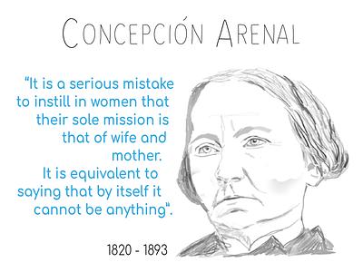 Concepción Arenal social network spanish feminist spanish pioneers feminist pioneer feminism