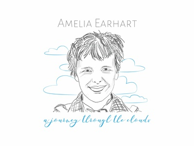 Amelia Earhart - A Journey Through The Clouds