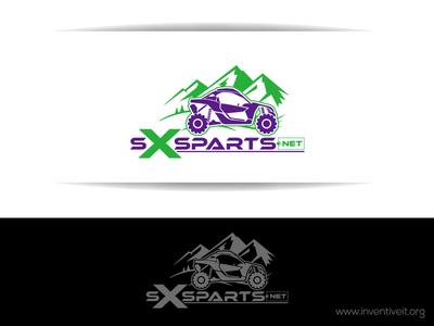 SXSparts Logo sketch logo illustrator illustration design brand art