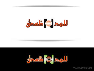 grab n roll Logo sketch logo illustrator illustration design brand art