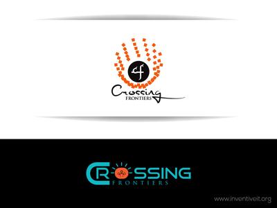 Crossing Logo it sketch logo illustrator illustration design brand art