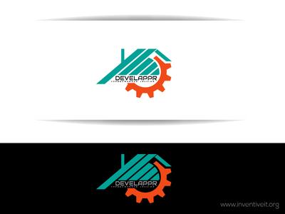 Develappr Logo sketch logo illustrator illustration design brand art