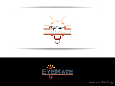 EyeMate Logo bulb sketch logo illustrator illustration design brand art
