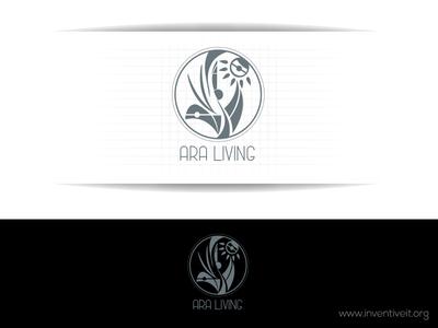Ara Living Logo-2 sketch logo illustrator illustration design brand art