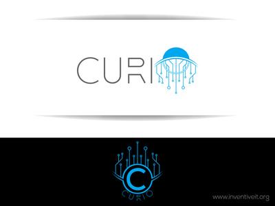 Curio Logo sketch logo illustrator illustration design brand art