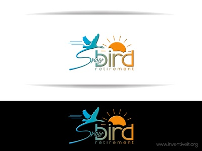 Snow Bird Logo-1 bird sketch logo illustrator illustration design brand art