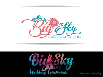Wedding Logo-2 wedding sketch logo illustrator illustration design brand art