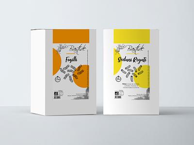 Pasta box - branding short food circuits organic food vector branding visual identity farm products design food and drink graphic design