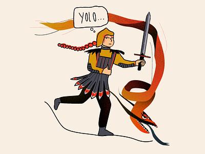 Covid boredom dragon graphic design drawing design krita illustration