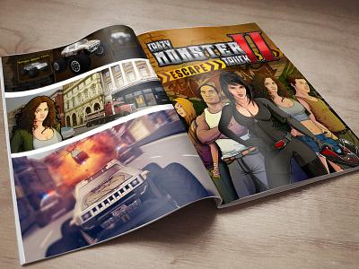 Illustrations made for Mobile Game 3d models sketches mobile game artwork illustration concept art