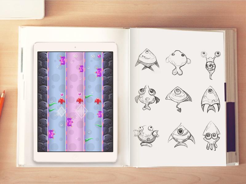 Aqua Rush Game Graphics graphics game design