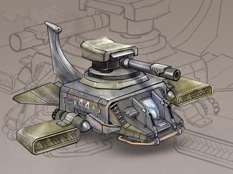 Futuristic Weapons sketches digital art graphics game design