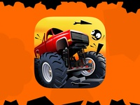 Hell Escape Racing ux app icon ui digital art graphics game design