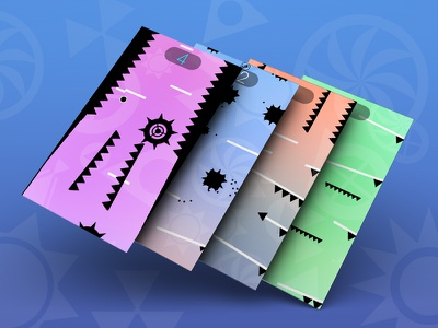 Spiketrap ux app icon ui digital art graphics game design