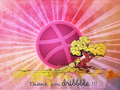 Thank you Dribbble !!! thank you dribbble first shot