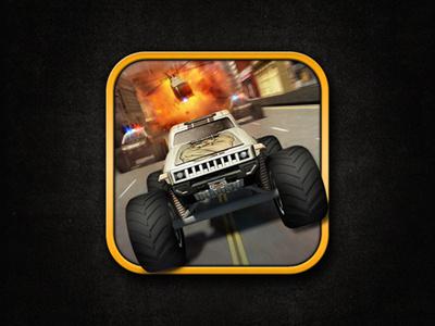 Cmt Escape Icon crazy monster truck icon game icon