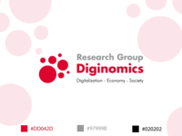 Logo for research group Diginomics
