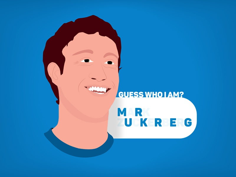 Guess who I am? tools illustrator simple vector graphic design 2d illustration