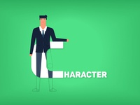 Character Text with