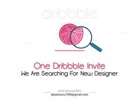 1 Dribbble Invite_2019