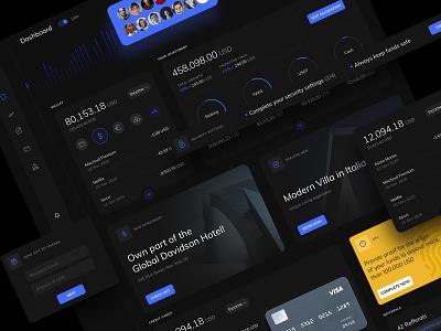 Investment Dashboard finance dashboard design dashboard ui dashboard investment simple clean ux ui