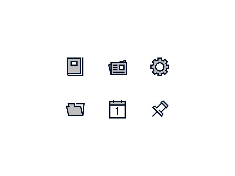 Basic Shapes Iconography by Albert Ramirez on Dribbble