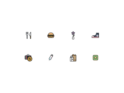 On-boarding iconography