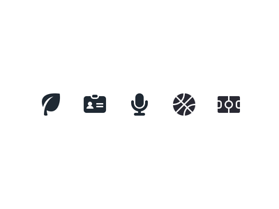 Iconography Set V print phone palette icon set icons downloadfree designs asset
