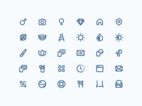 New project icons