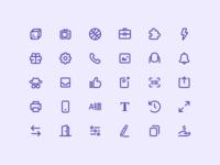 Wavy Icon Suite