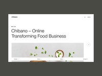 Chibano Product Page