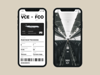 Day 024 -  Boarding pass - Daily UI