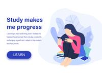 Study makes me progress