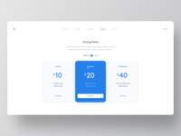 Pricing Policy UI Design