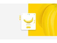 Fruit card UI design 2 - Adobe Photoshop (reupload)